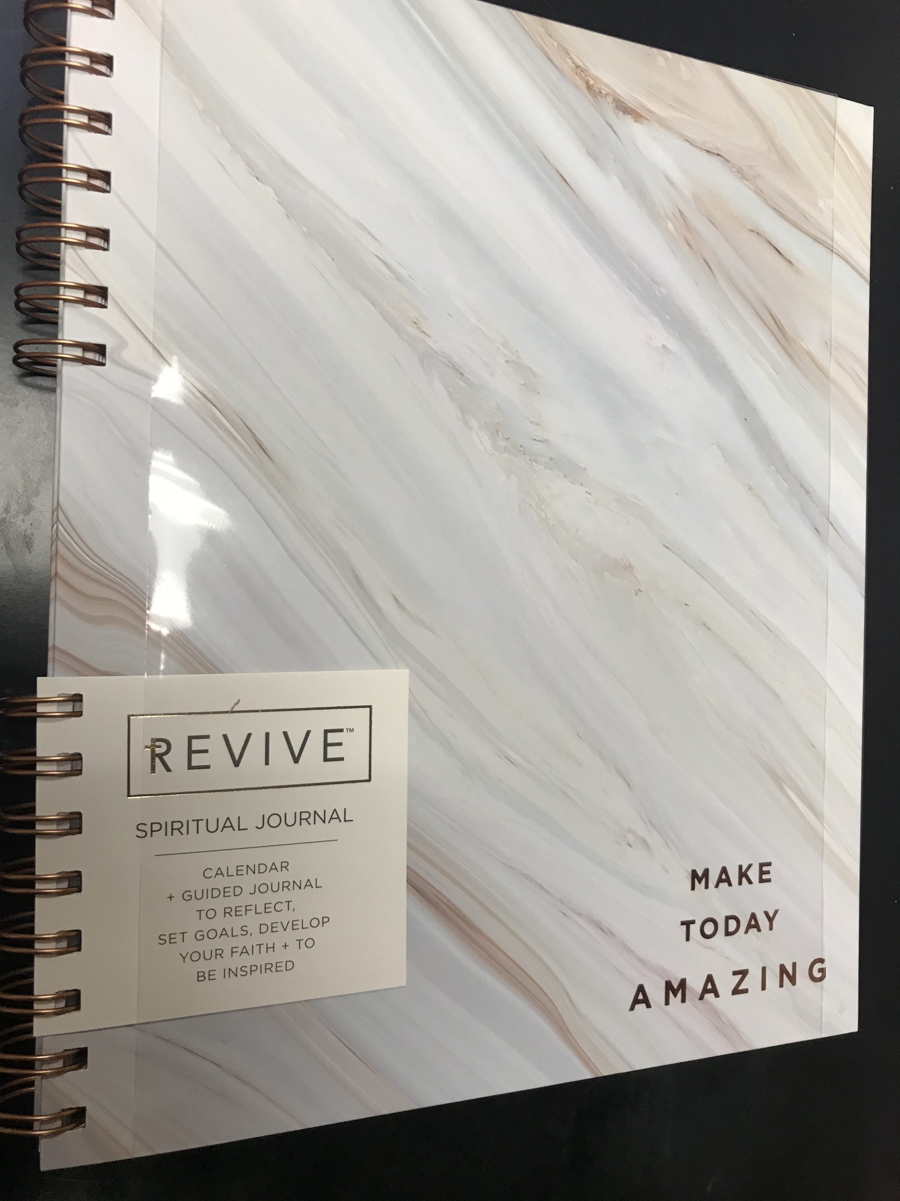 Spiritual Productivity Journal-Marble cover