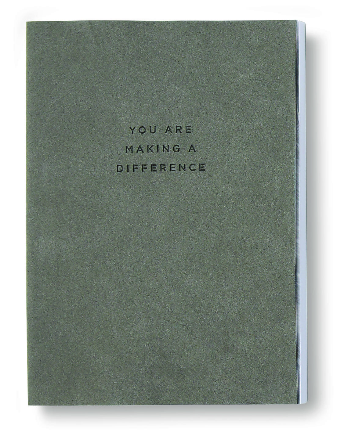 Making a Difference Journal