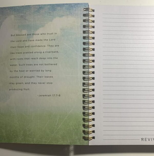 Tree Journal with Jeremiah 17:7-8